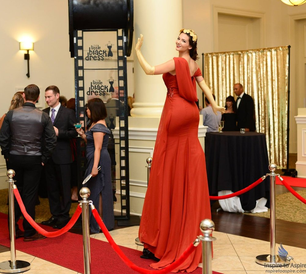 Entertainment Living Red Carpet Aerial Events