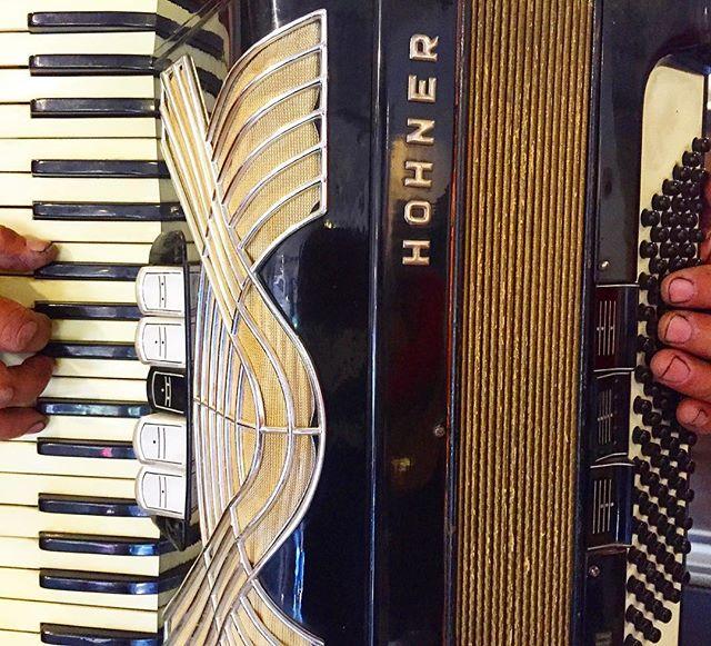 Man playing corridos on accordion Saturday afternoon at #altabajamarket #lacuatro #santaanalookslikethis