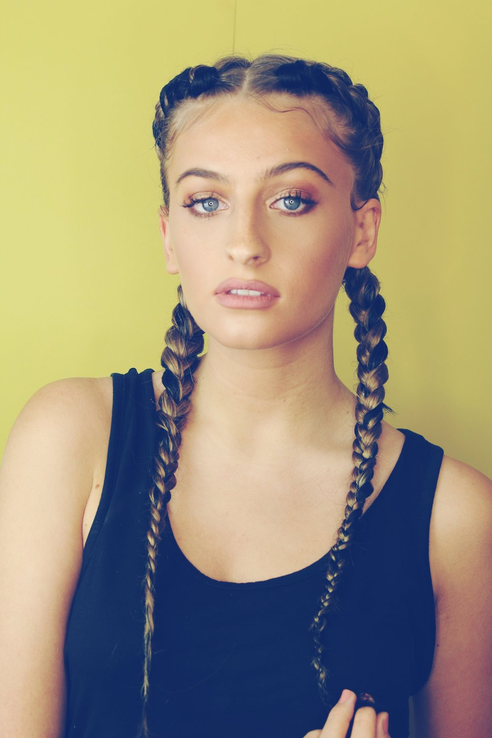 SOPHIA A - £20.00 - 2 braids going back (Extensions included)Book here