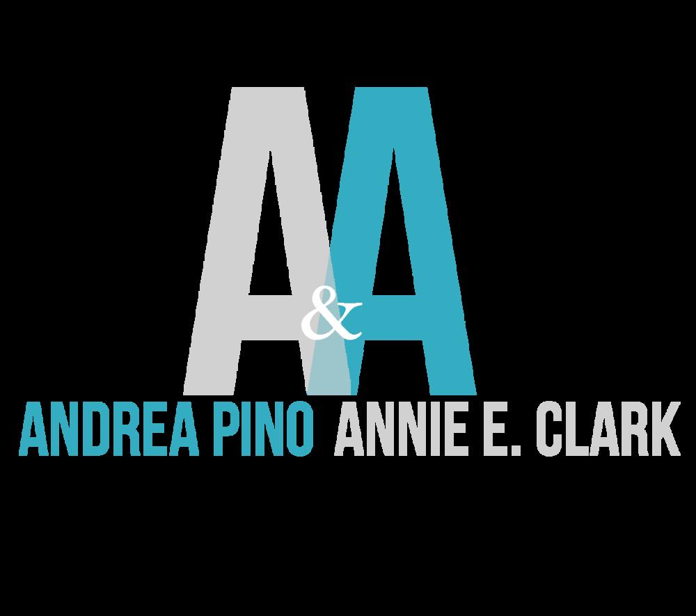 ANDREA PINO & ANNIE E. CLARK | {Pino logo 67}