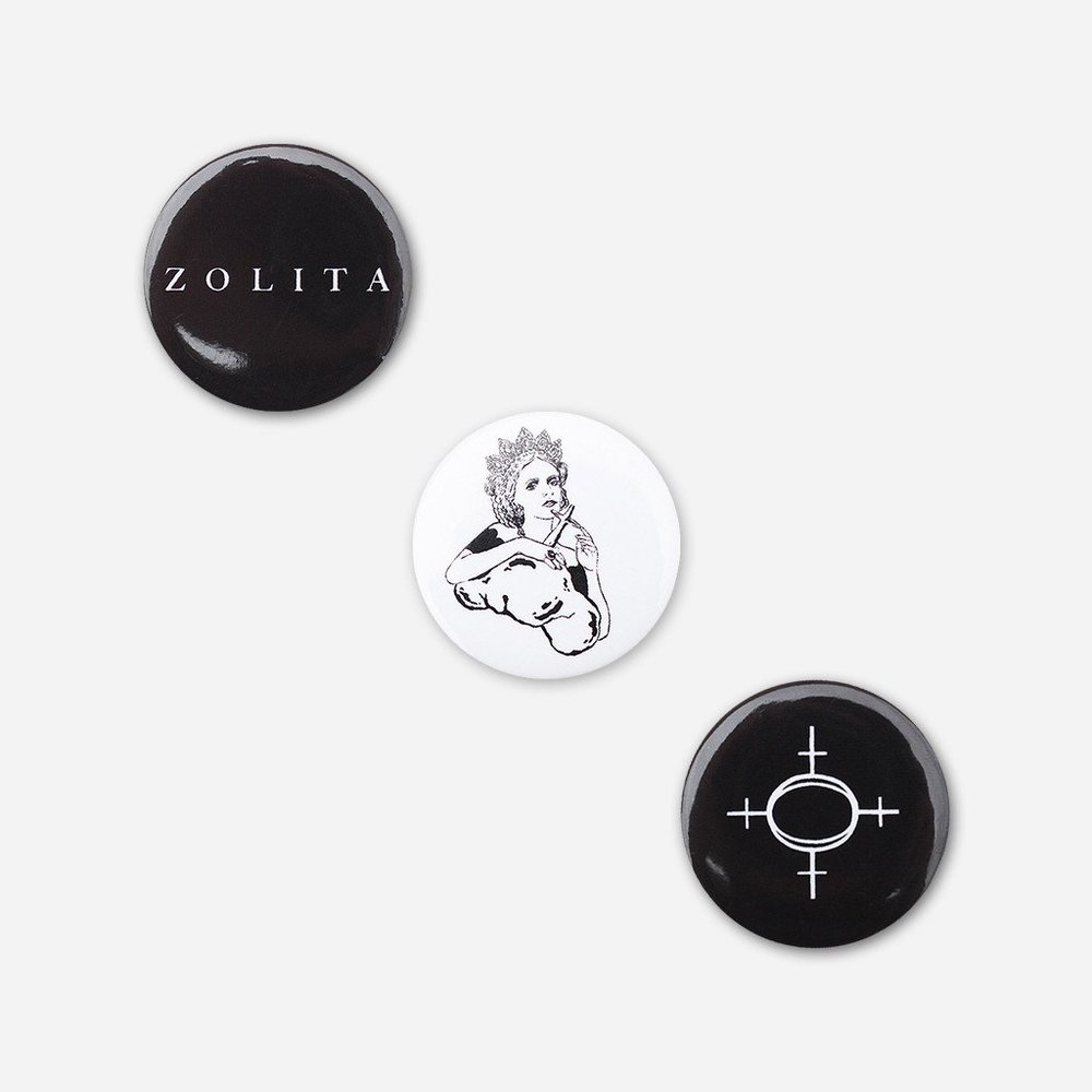 ZOLITA BUTTON PACK     6.00