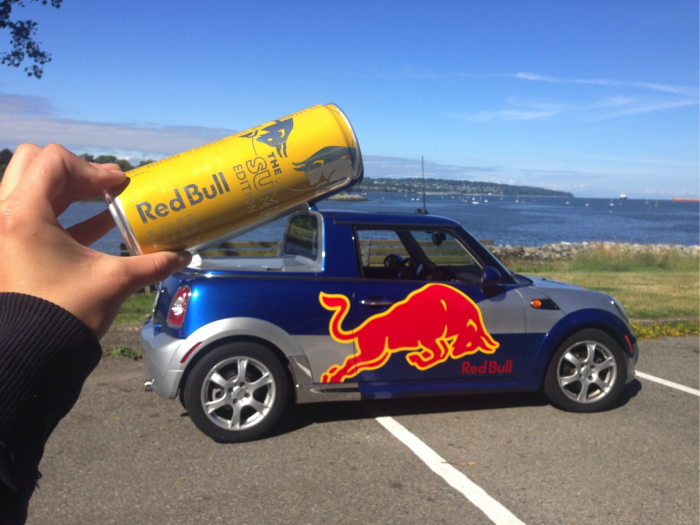 Red Bull #PutACanOnIt UGC Campaign Submission