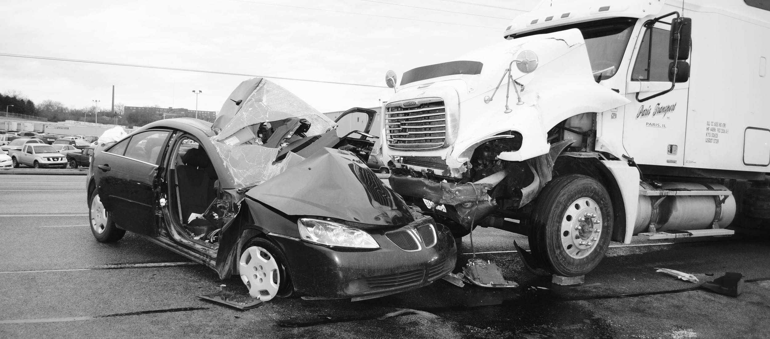 Commercial Trucking Accidents — The Lions