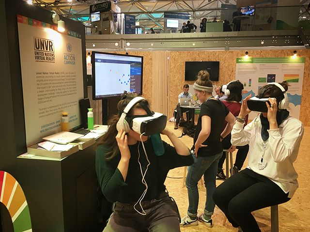 "We are in Bonn, Germany at the UN Climate Change Conference (COP23) and it has been an incredible week! . . . We are here with UNVR and the SDG action campaign, showing a limited release of the VR film we made this past summer, ""Guardians of the Forest"", about indigenous activist Sonia Guajajara and the Guajajara forest defenders. . . . It has been beautiful and surreal to show the film to those attending the conference, and yesterday we reunited with Sonia and showed her the film for the first time! . #climatejustice #climatechangeisreal #fortheamazon #protecttheamazon #unvr #upliftindigenousvoices #earthguardians #resist #virtualreality #unitednations #cop23 #sdgaction @brittanycneff @bynyamin1111"