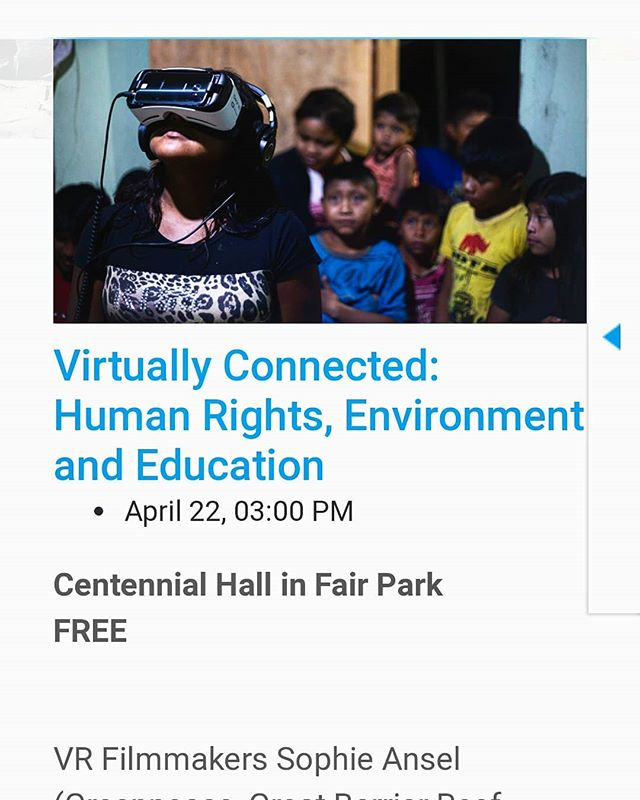 We are overjoyed to be premiering Guardians of the Forest, Episode One of the REGENERATION series at EarthX in Dallas this weekend! Please join us and our incredible colleagues @sophie.ansel and @emblematicgroup to discuss the use of VR in Environmental Human Rights Education at an amazing panel, April 22nd at Centennial Hall in Fair Park. . . #premiere #vr #vrfilmmaking #documentary #environmental #storytelling #humanrights #education #vreducation