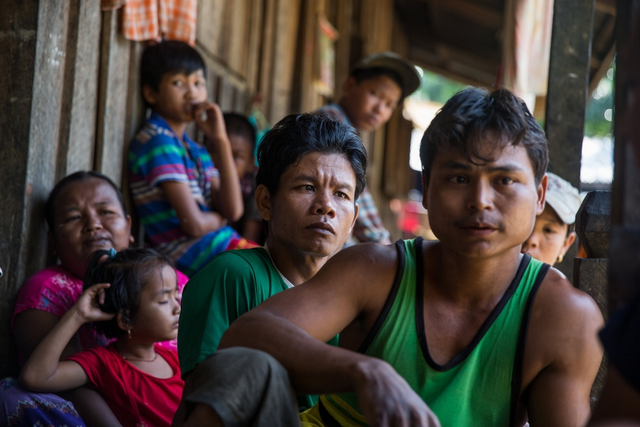These Burmese palm oil workers say they're trapped on plantations