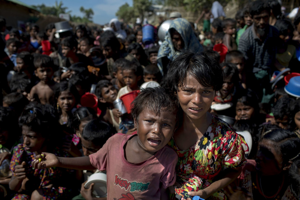 It's hard to know exactly what's happening to Myanmar's Rohingya. So they found me.