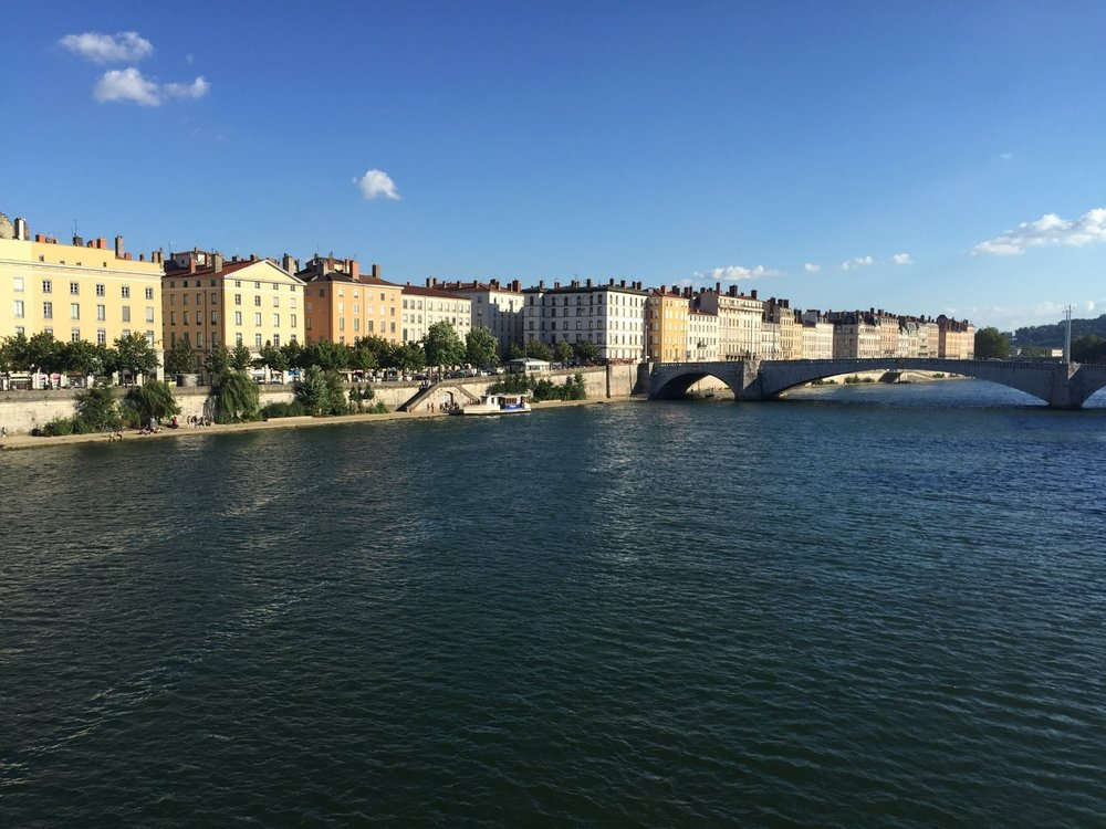Lyon sits at the junction of the Rhône and Saône rivers, dividing the city into 3 parts, joined by historic and modern bridges.
