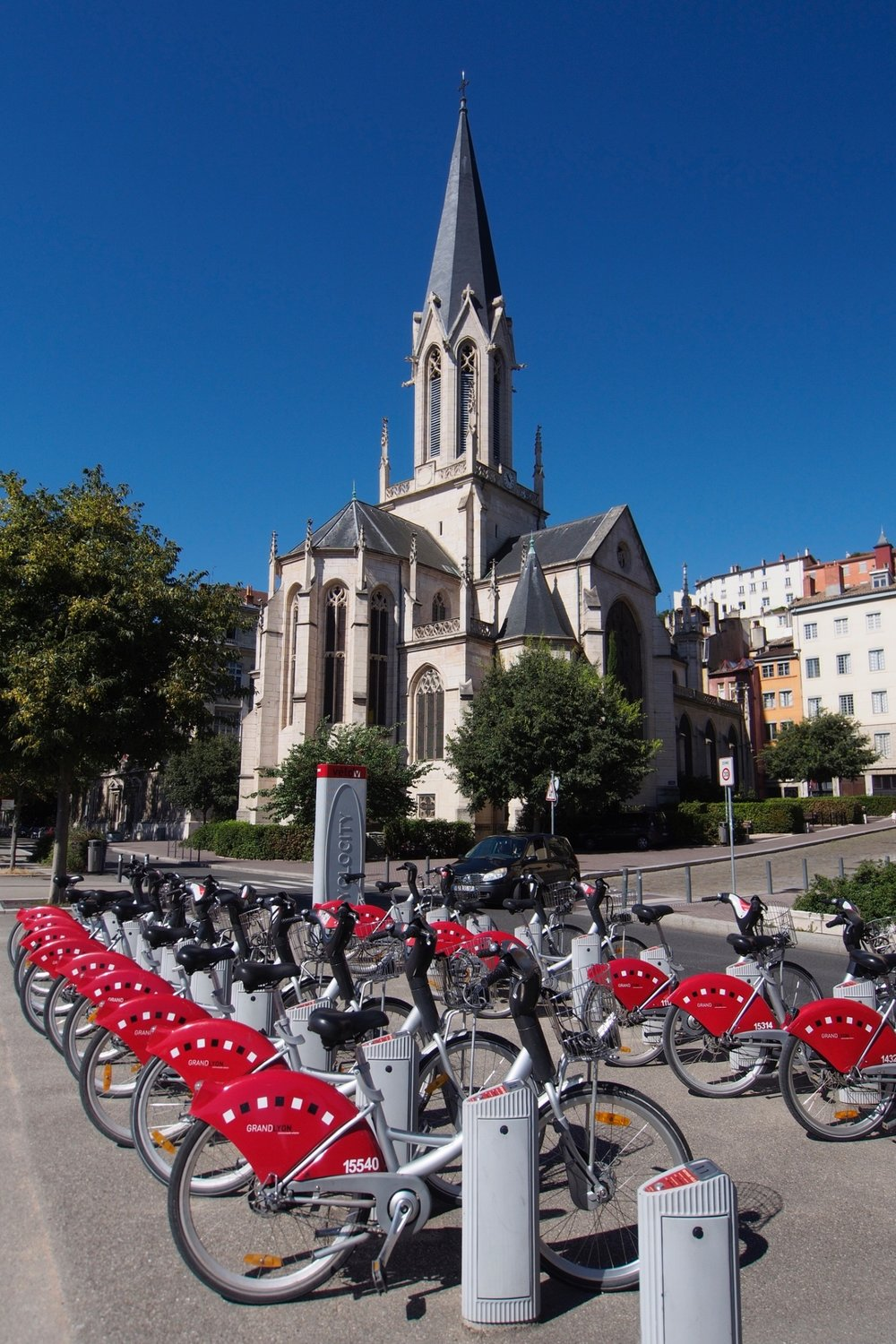 The city has a great cycling infrastructiure, including pleanty of bike lanes and a bike-share.