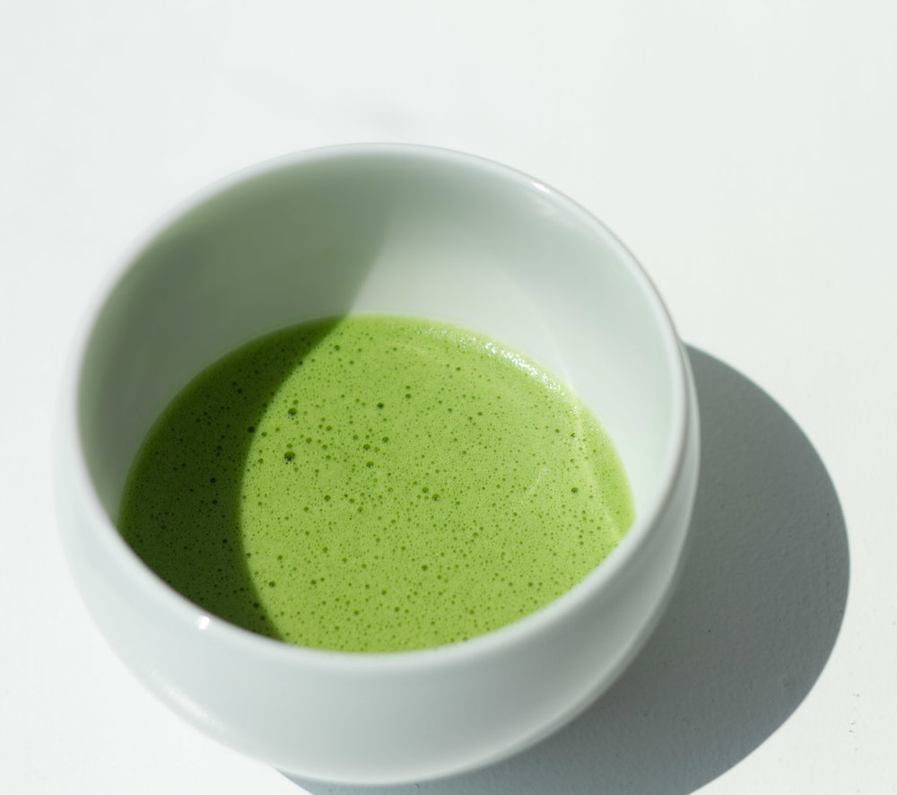Sometimes I like a frothy bowl of matcha as a pick-me-up after lunch