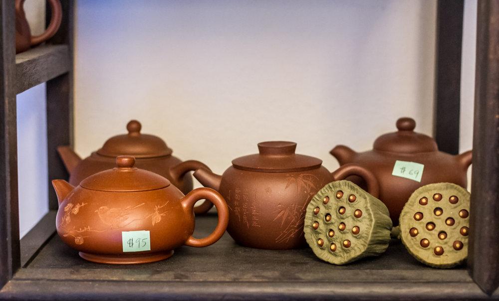 Dan Cong oolong tea tasting at Tea Habitat