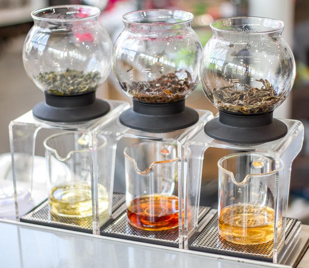 Tea People tea flight.