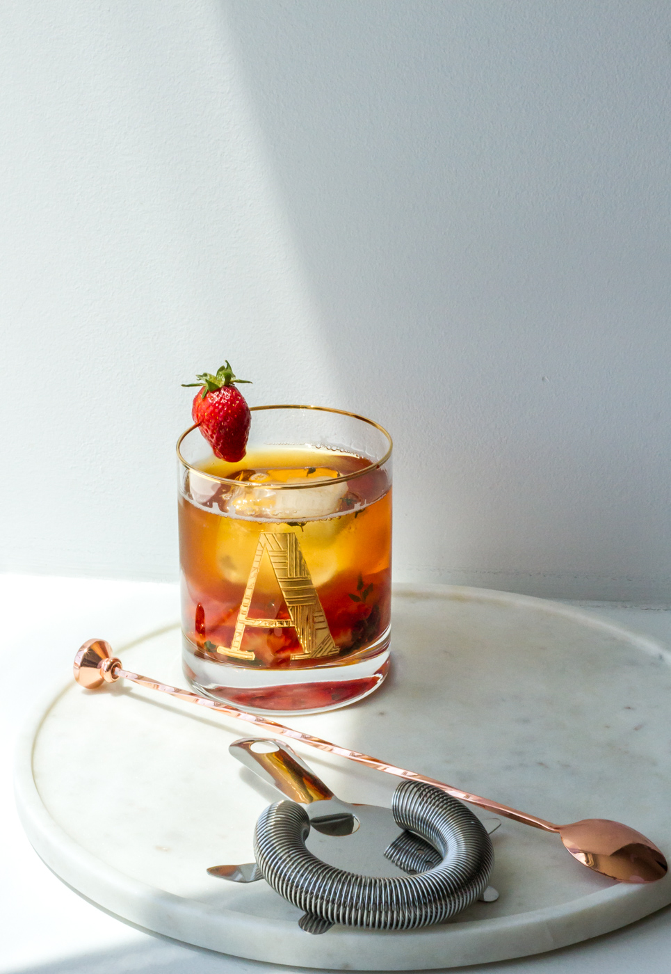 My favorite tea mocktail for summer