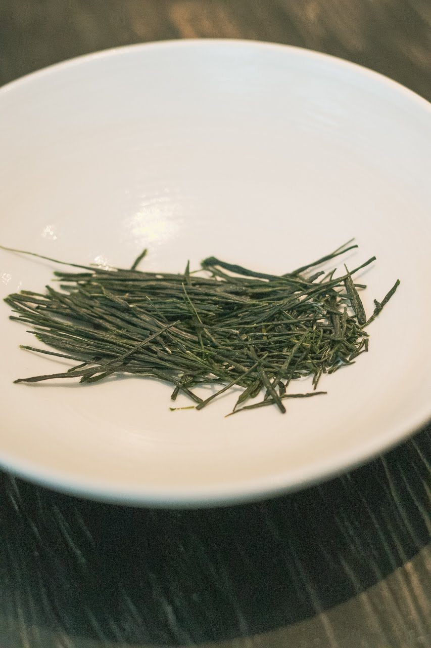 The Sakurai Tea Experience in Tokyo, hand-rolled green tea