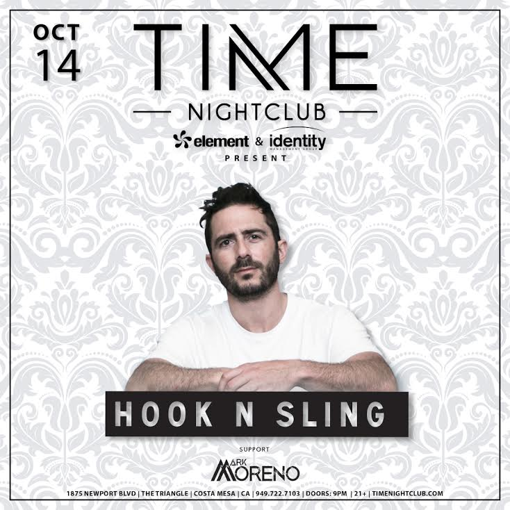 Supporting Hook N Sling this Saturday Night,     Oct 14th at Time Nightclub!!!     Tickets Here:  www.timenightclub.com