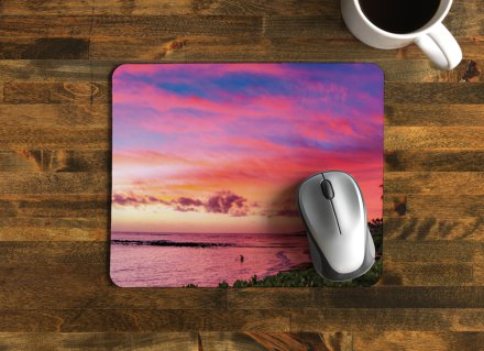 """Purple Haze""   Mouse Pad / $20"