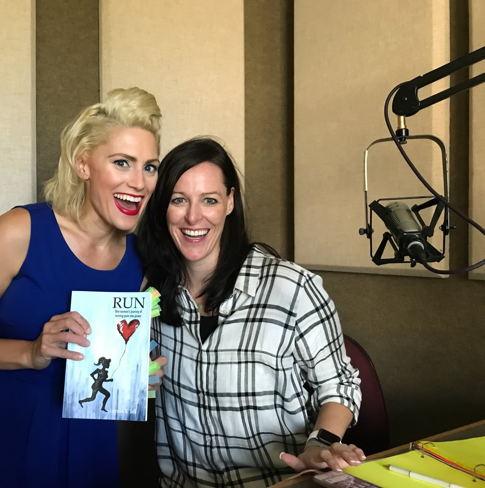- Above was my first radio interview ever with Deborah Hanlon about my book