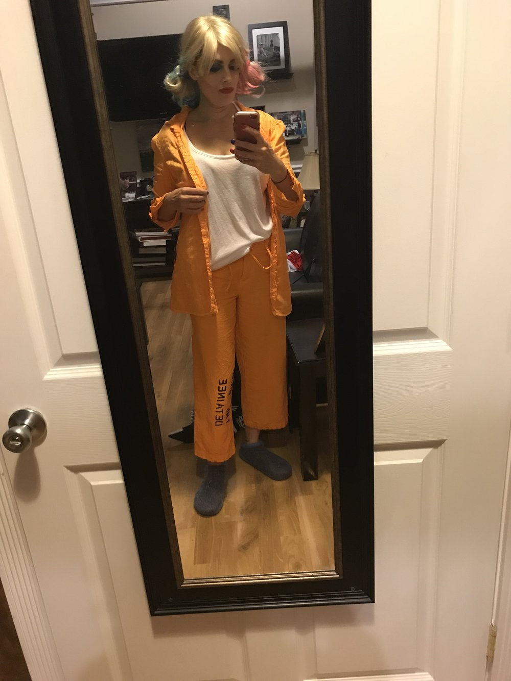 Pre prison outfit Selfie -