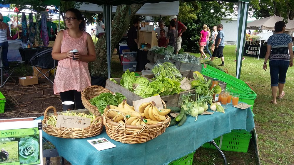 fresh vegetables - Greytown country market