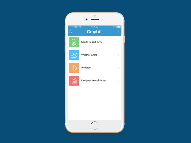 Graphit (Apple 24hours App Challenge), User Experience & Interface Designer