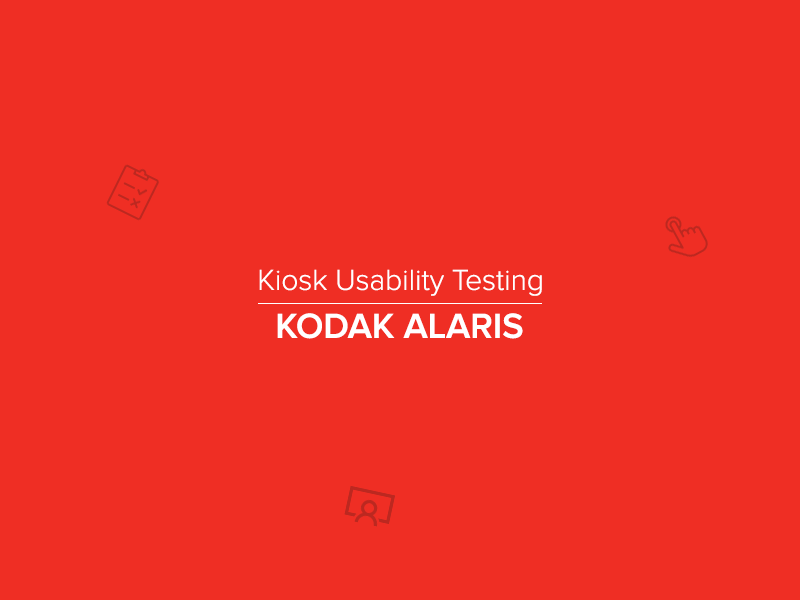 Kodak Alaris, UX Researcher