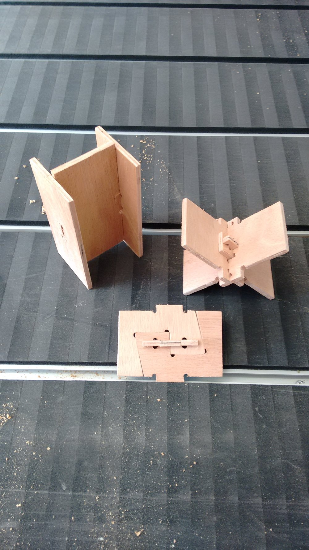 PROJECT: WIKIHOUSE V3 Test Joints