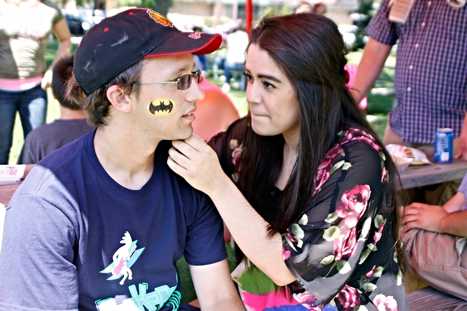 Face painting volunteers.jpg