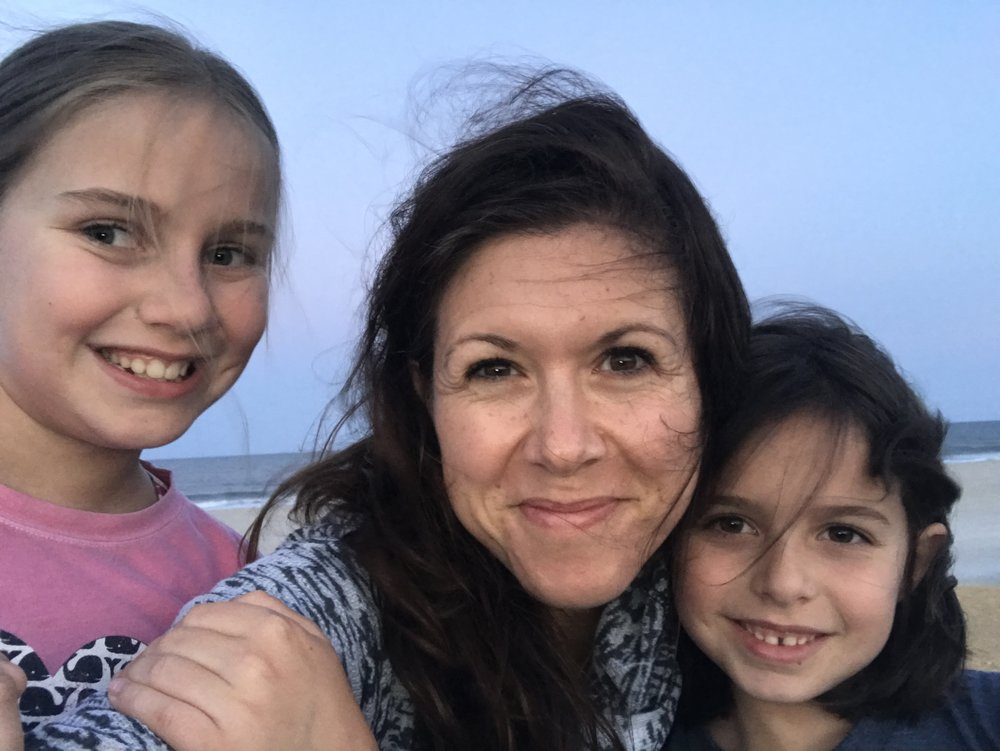 With my babies down the shore, July 2018