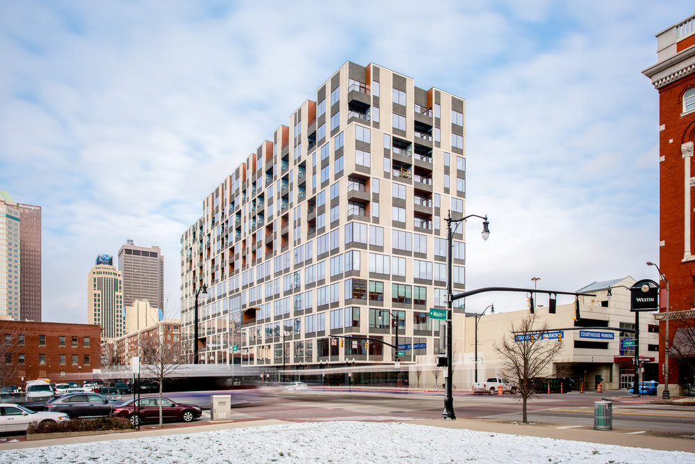 250 High - Mixed Use Building, Winter Construction, Construction Project Manager