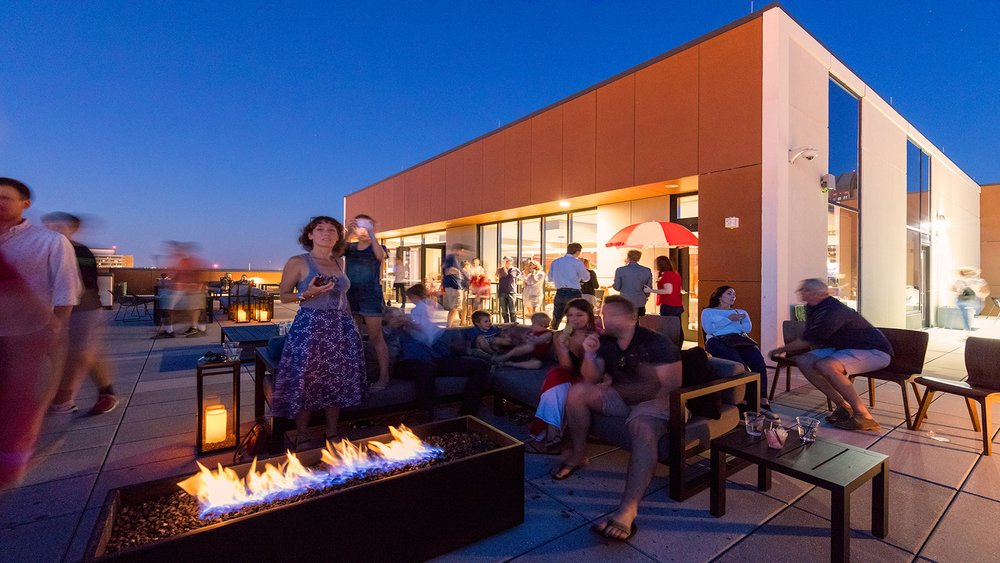 250 High - Mixed Use Building, Holiday Party, Outdoor Amenity Deck, Construction Project Manager
