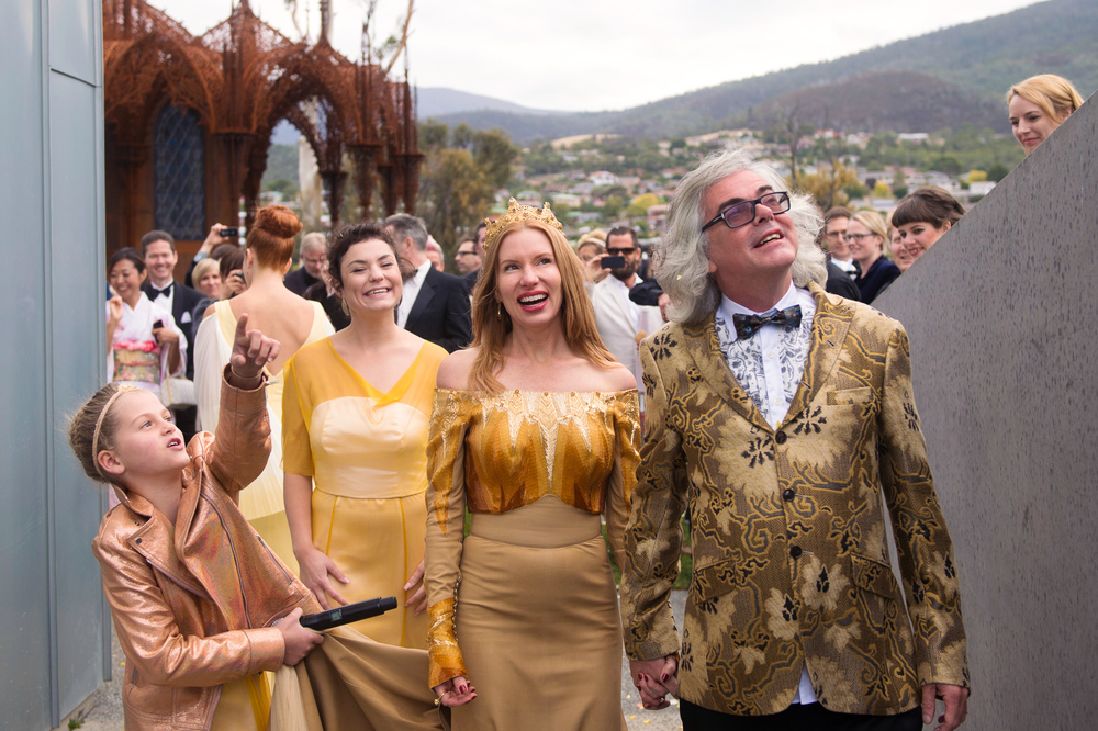 Kirsha Kaechele and David Walsh's MONA wedding