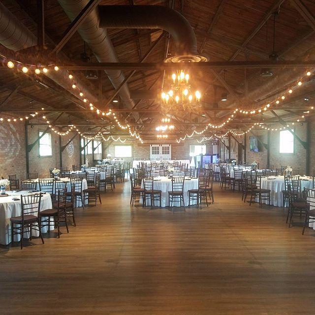 Awesome venue for today's wedding and reception!