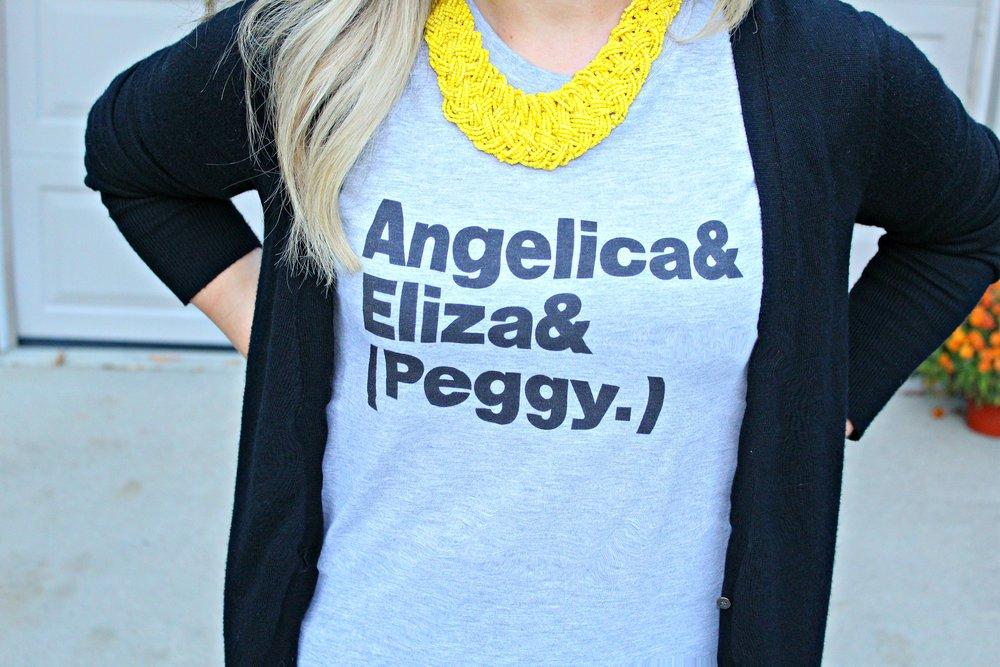 Angelica, Eliza, Peggy