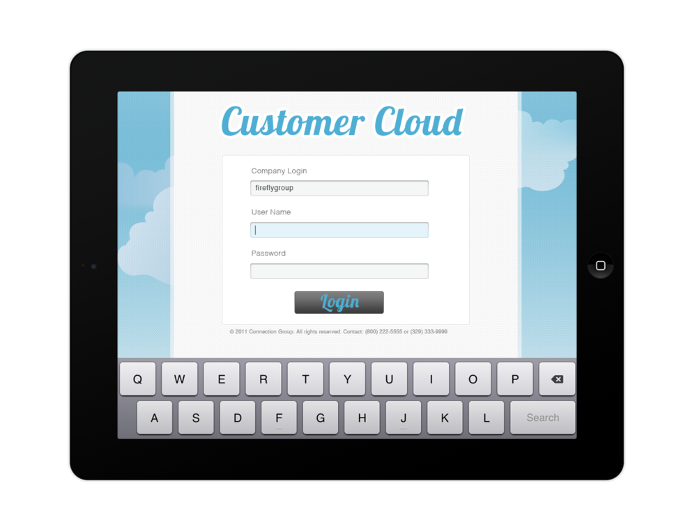Customer portal ideation for new CustomerCloud. Remember when Cloud was new and trendy?yeah that was a while ago, that was before Lobster typeface blew up too.