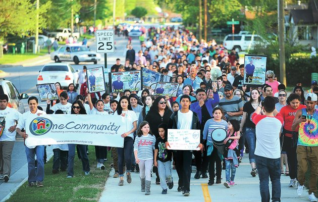 1 - Join the Peace Walk. HWPL Peace Walks are held annually in major cities around the world to raise awareness by spreading the message of peace.