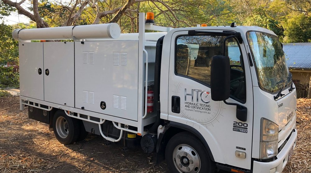 COMMISSIONING OF FIRE HYDRANT SYSTEMS - HTC can commission newly installed or modified fire hydrant systems. Our pump truck can commission booster systems up to 40L/s. We are RPEQ qualified and able to provide a Form 71.
