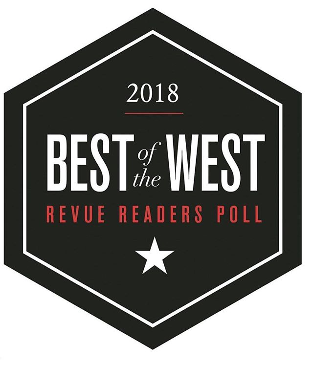 Have you voted yet? Cast your vote now, the link is in our profile and give @capelligr some ❤️ • #bestinthewest #revuemagazine #capelligr