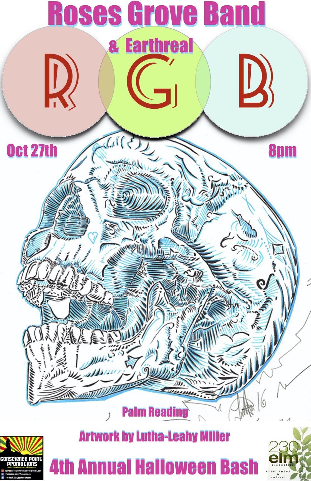 Roses Grove Poster 4th Annual Hallowen Bash .jpg