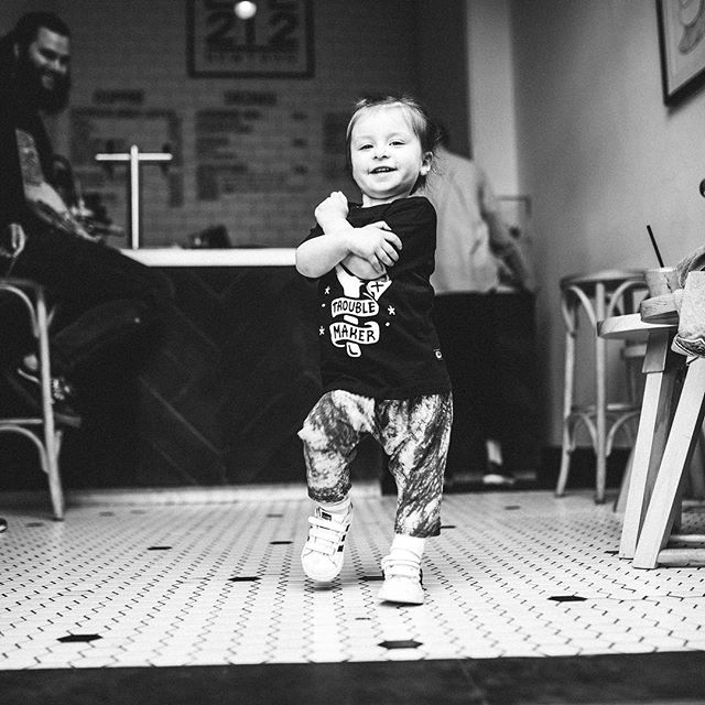Dance like it's Friday ya'll! Or just visit nightcrawlerco.com.au to shop our recently re-stocked Trouble Maker kids tee. - #nightcrawlerco #troublemaker #fridaydanceoff #dancemoves #tgif