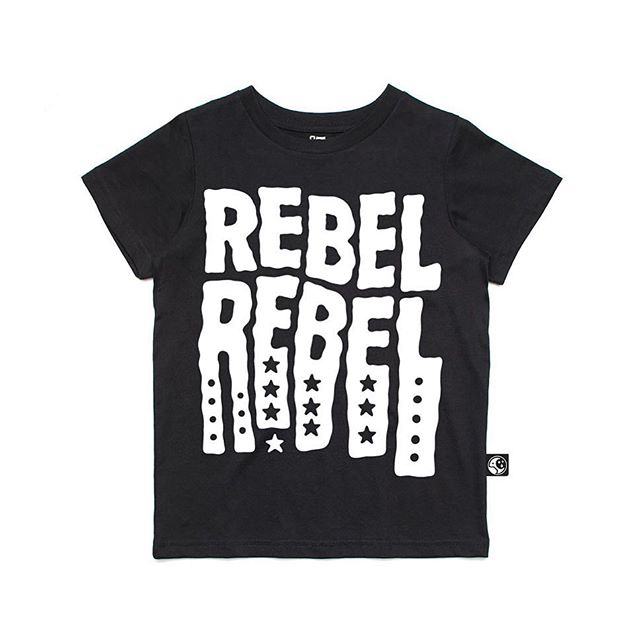To all our rock n roll rebels - this new design is for you ⚡️ - #nightcrawlerco #bowie #rebelrebel #davidbowie #kidsfashion #kidsstyle #rocknrollstyle #bowieforever