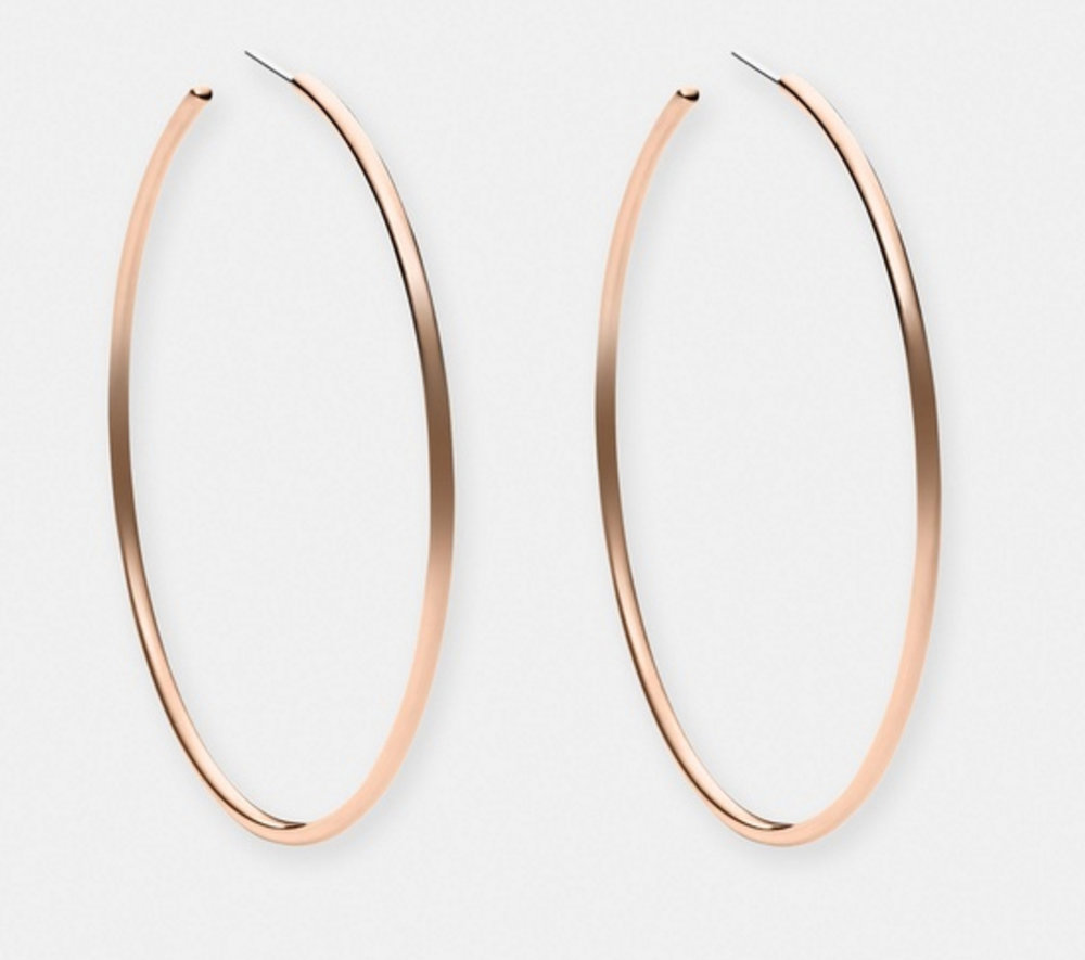Michael Kors brilliance hoops $99