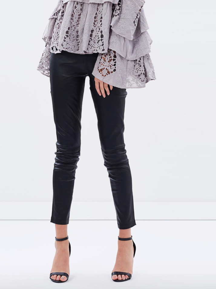 Ministry of Style Sybilla leather pants $489.95