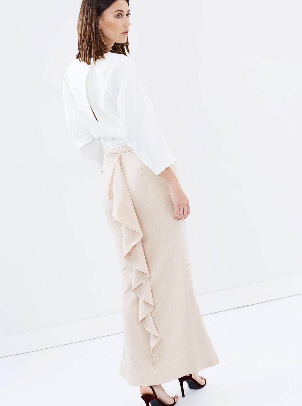 Friend of Audrey forever maxi skirt $169.95