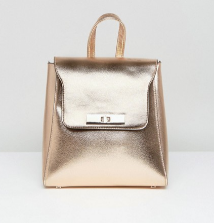 New Look sleek mini backpack $38