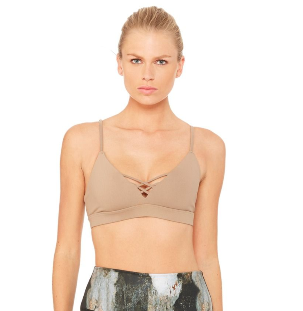 Alo Yoga interlace bra $79