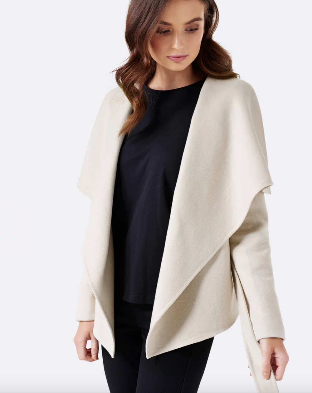 Forever New Charlotte waterfall jacket
