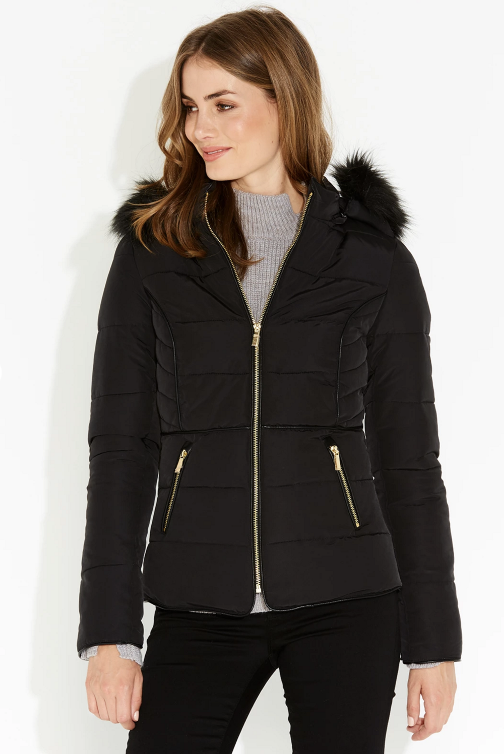 Portmans Suzy short puffer jacket $129.95