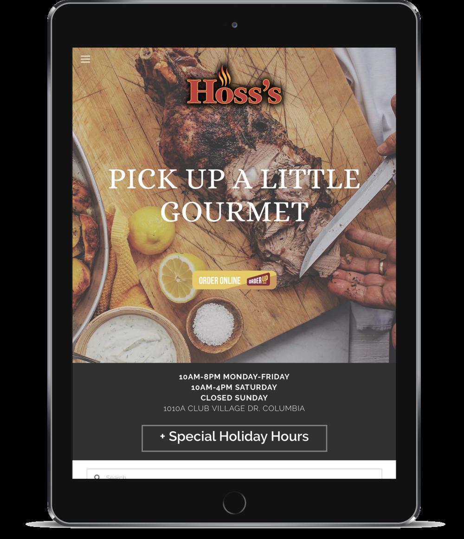 Hoss's Market iPad