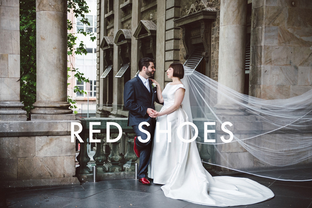 RED SHOE WEDDING