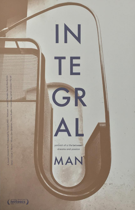 Integral Man 2016 feature length doc by Joseph Clement - original composition by DMG and Shaun Brodie; production and mix by Dan Goldman (Featured Selection at 2017 HotDocs Festival, Toronto) -